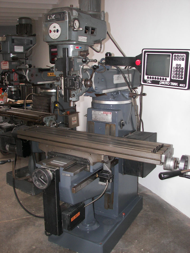 Used ProtoTRAK CNC machinery - Lagun FTV2 milling machine with ProtoTRAK MX2  cnc - Pratt Machine Tools