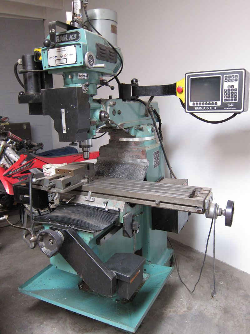 Used Prototrak Cnc Machinery Prototrak K3 With Age3 Cnc